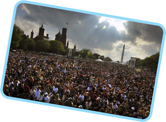 twitter is like an event on the national mall | get susan marketing