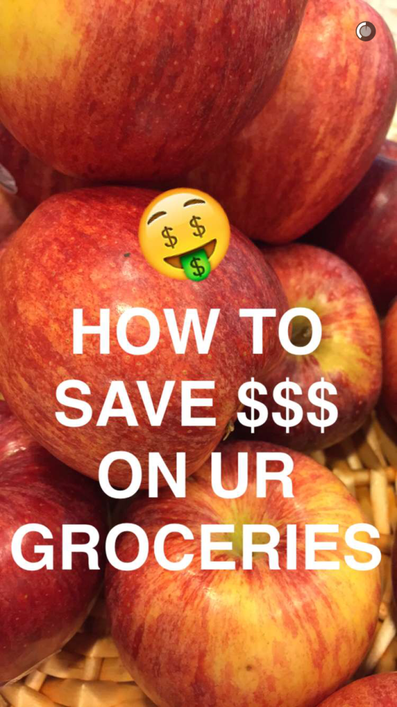HuffPost often posts How-To's on Snapchat.
